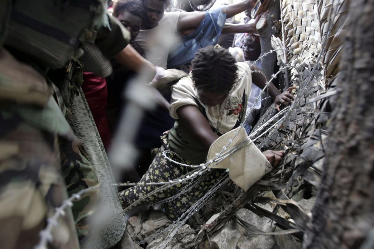 Flood in Haiti