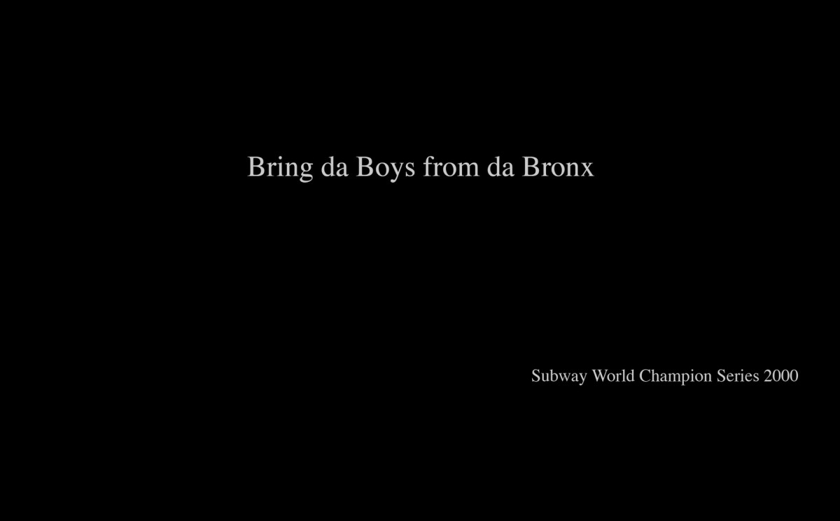 Bring da Boys from da Bronx