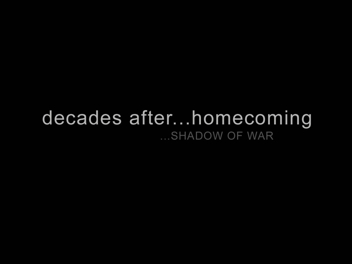 decades after... homecoming...SHADOW OF WAR