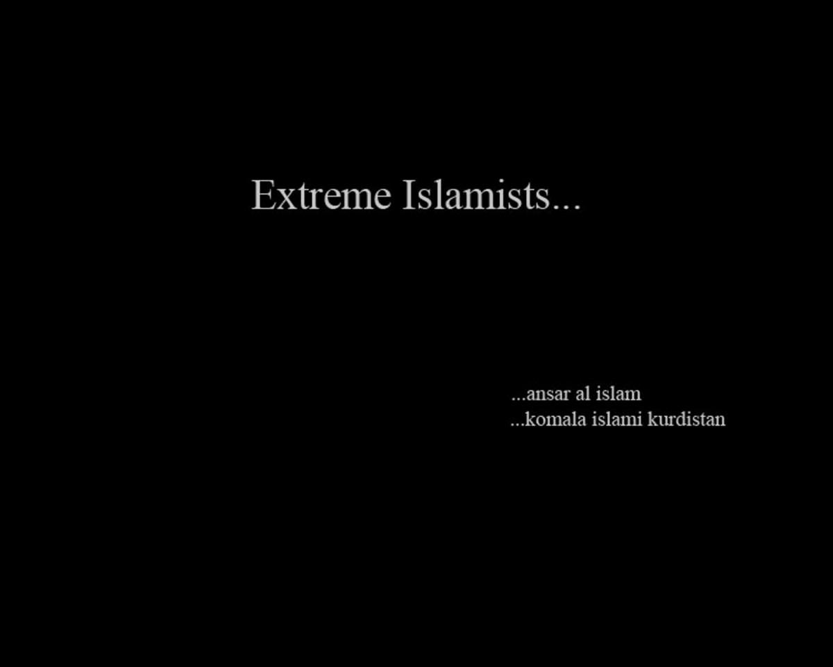 Extreme Islamists...