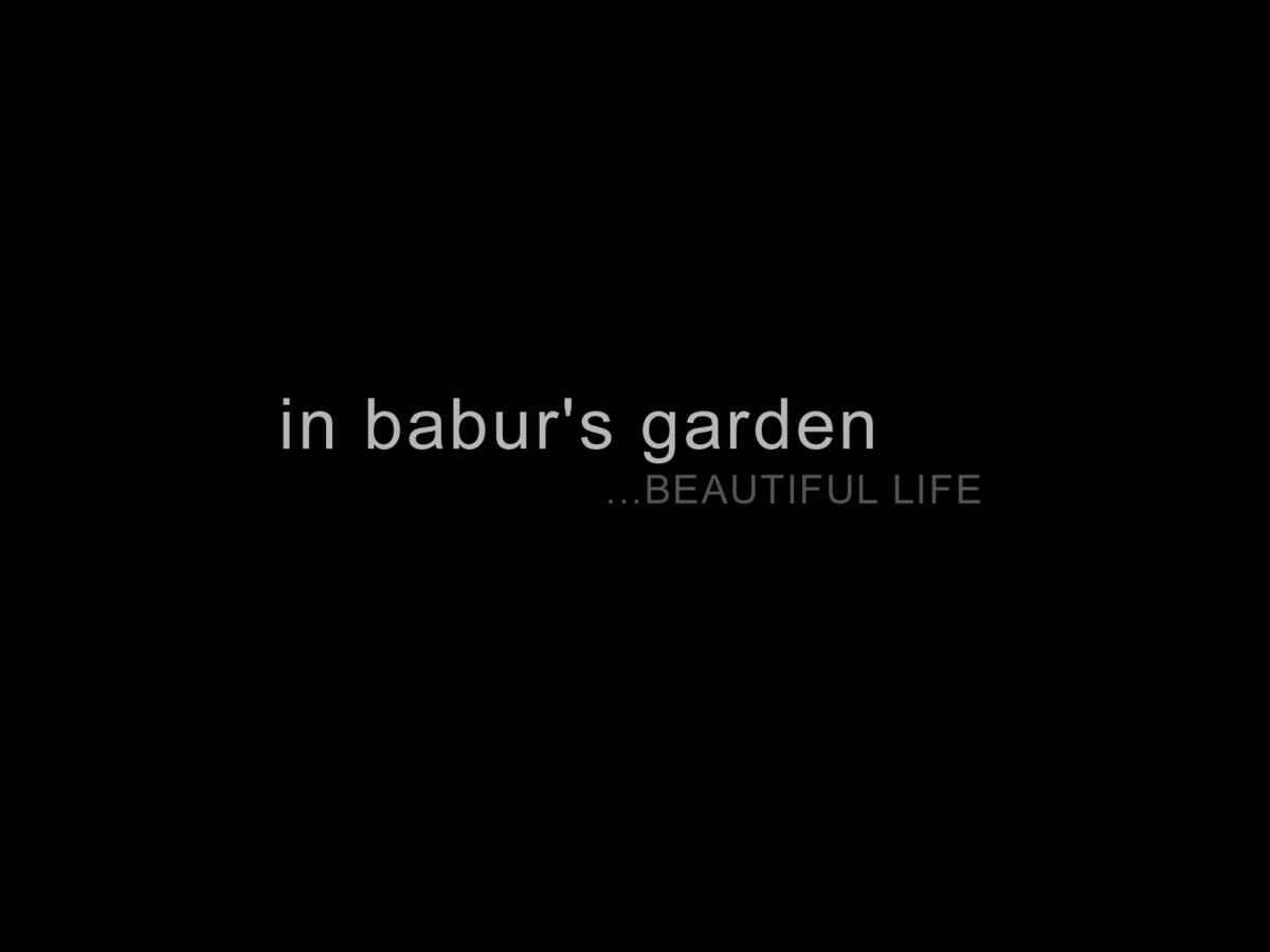 in babur's garden...BEAUTIFUL LIFE