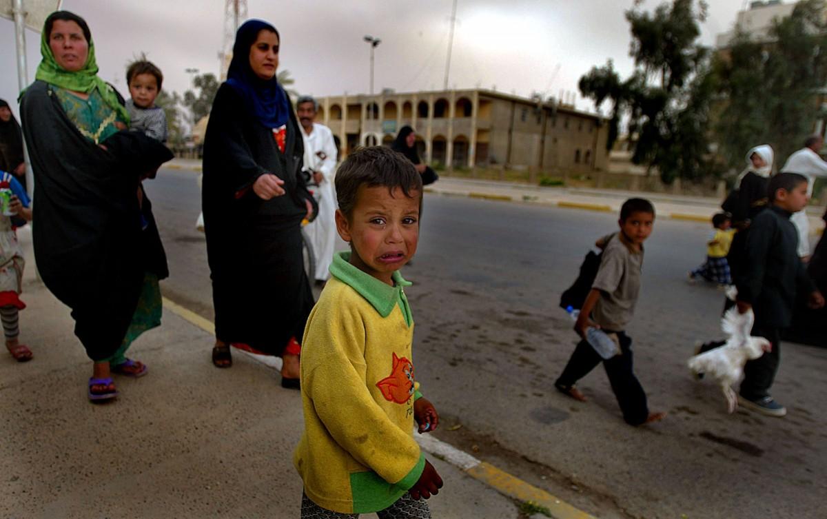 The Vunerable Iraqi Children