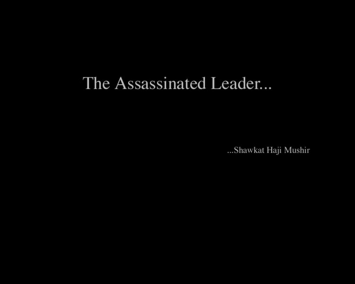 The Assassinated Leader...